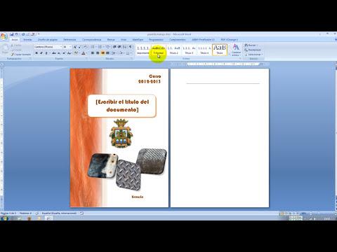 2.- Aplicar márgenes, formatos y estilos en una plantilla de Word