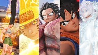JUMP FORCE - All Characters Ultimate Attacks! (4k 60fps)