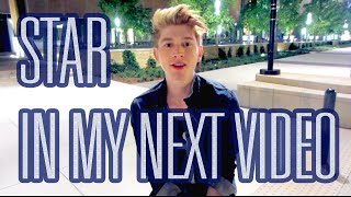 STAR in my next MUSIC VIDEO