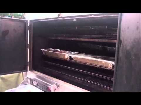 Bounty Hunter&#039;s Southern Pride Smoker - Live from Auction Napa Valley - iPad 2 footage