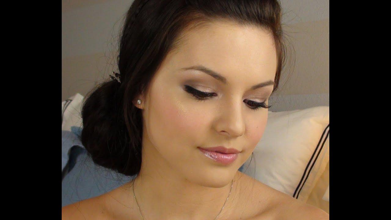 Simple Bridal Makeup Tutorial : Urban Decay Naked: Bridal Makeup Tutorial - YouTube