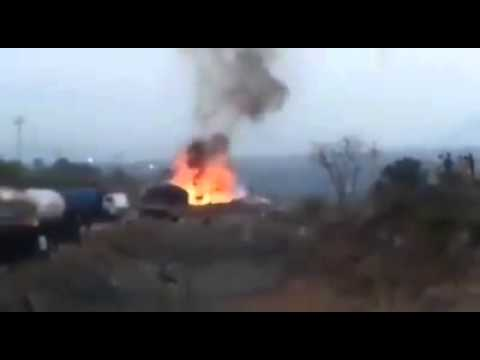 Fire in Punjabi Bagh Area