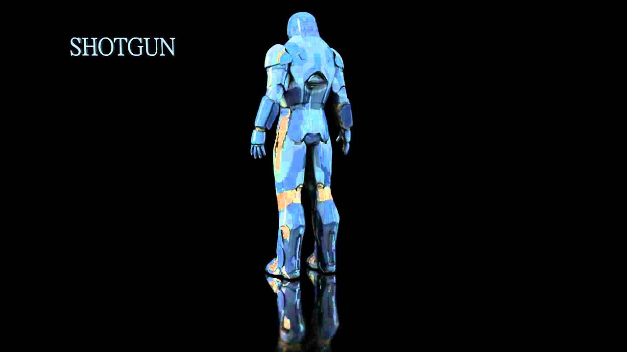 Iron Man 3d Model Tutorial Free Iron Man-3 3d Models
