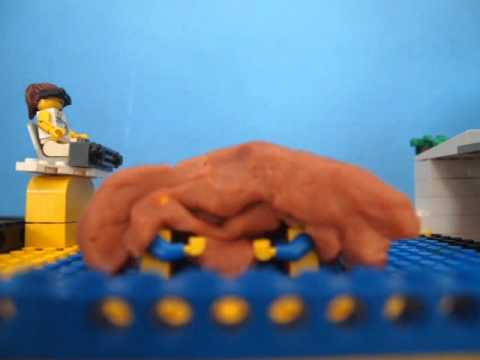 Lego Poo In The Pool video