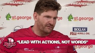 "Thomson: Reds must ""Lead with actions, not words"" 