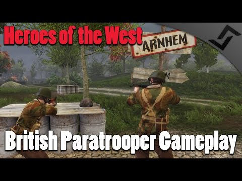 Heroes of the West (RO2 Mod) - British Paratrooper Gameplay - Operation Market Garden
