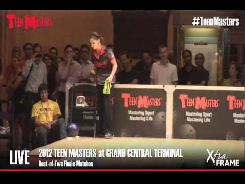 2012 Teen Masters - Haley Rubin vs. Melanie Hannon