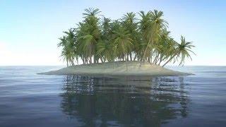 Blender 3D Tutorial : Modeling, Shading, Compositing an Island (1/5)