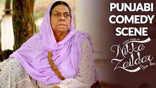 FUNNY COMEDY SCENE | Ammy Virk | Nikka Zaildar 2 | PUNJABI COMEDY SCENE