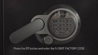 How to Program Your Fingerprint on a Sentry®Safe Fire Safe