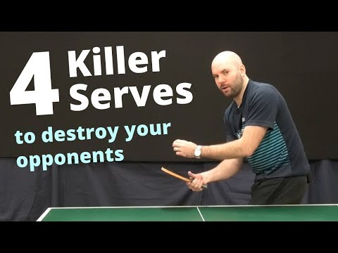 4 killer serves to destroy your opponents with Craig Bryant