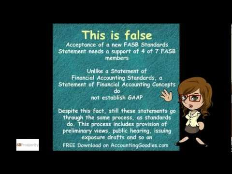Financial Accounting Course - Intermediate Accounting True & False Statements Part 2