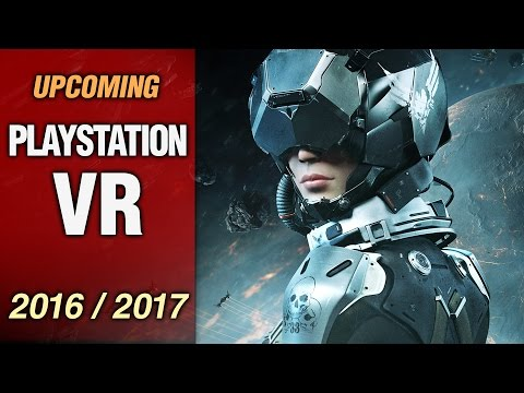 14 Upcoming Playstation VR Games In 2016 / 2017