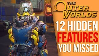 12 Features The Outer Worlds Never Tells You About