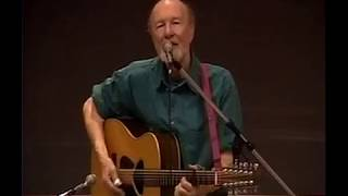 Pete Seeger at John Jay College - March 6, 1996
