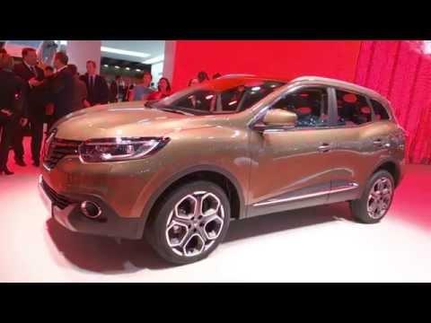 Renault Kadjar Revue de détails Salon de Genève 2015 - L'Argus