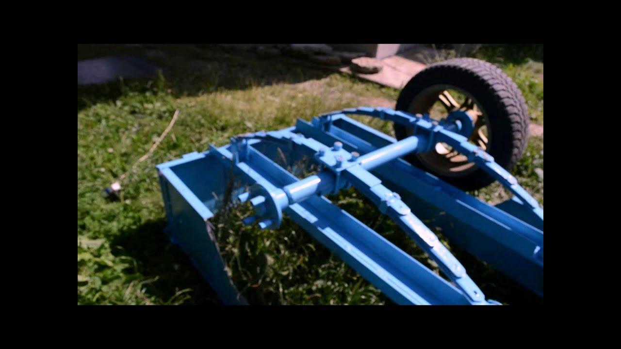 Как сделать прицеп на квадроцикл своими руками