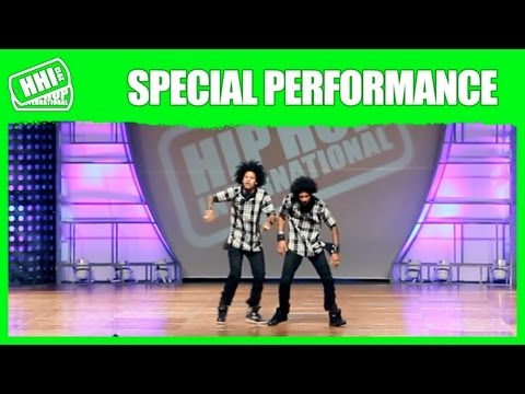 Les Twins  | Official Hhi Special Performance  2013 World Hip Hop Dance Championship video