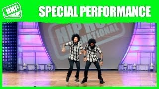 Les Twins  | Official HHI Special Performance @ 2013 World Hip Hop Dance Championship