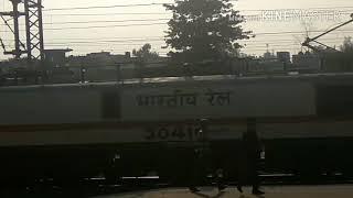12161 - 12162  Lashkar SF Express  लश्कर एक्सप्रेस Skipping Vidisha !!