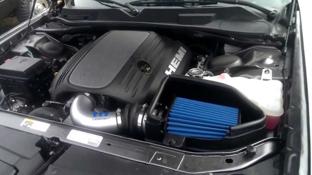 Dodge Challenger R T Mopar Cold Air Intake With Exhaust