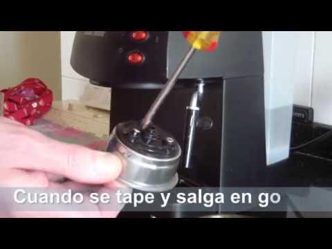 Como limpiar una cafetera electrica