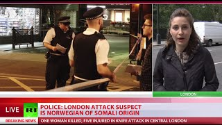 London Attack: 1 killed, 5 injured after Norwegian suspect of Somali origin goes on mass stabbing