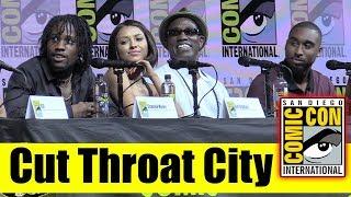 CUT THROAT CITY | Comic Con 2018 Full Panel (RZA, Wesley Snipes, Shameik Moore, Kat Graham)