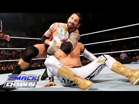 Sin Cara Vs. Bad News Barrett – Intercontinental Championship Match: Smackdown, January 15, 2015 video