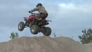 Honda 400Ex Hill Climb Jumps