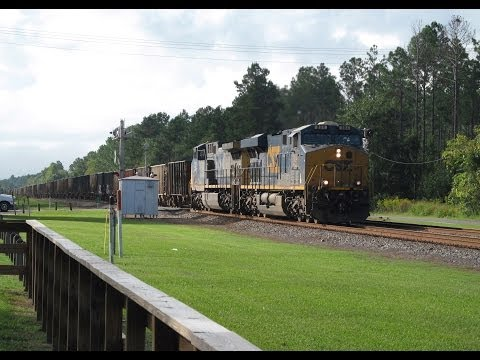 Railfanning Folkston, GA - Sunday October 6, 2013 Part 1