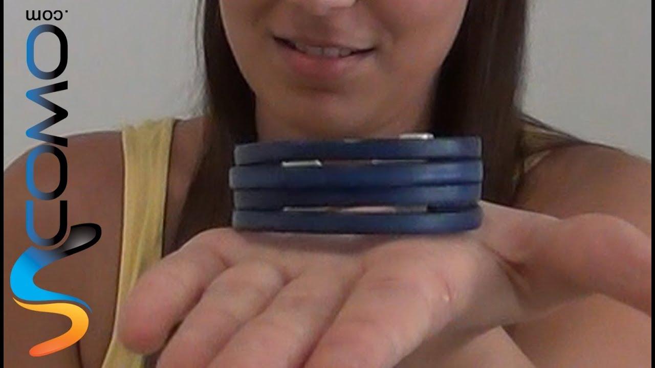 pulseras de cuero mujer