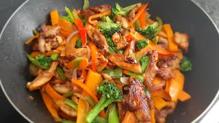 How to Make The Best Chicken Vegetable Stir Fry