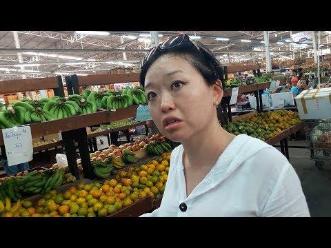Самые низкие цены на продукты в Таиланде / Часть I