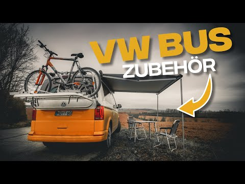 Mein VW Bulli Zubehör - VW California Beach 2018 Fahrradträger Heckklappe + Markise |Tom Siesing