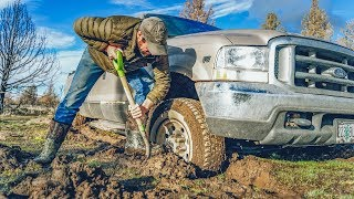 Spring is Killing Me - Ford Truck Mud Recovery