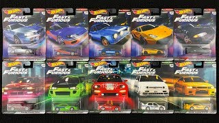 Opening Hot Wheels Premium Fast and Furious Series!