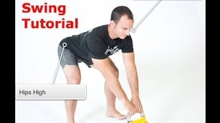 Kettlebell Swing - Correcting the biggest mistake in performing the Kettlebell Swing-Part 1