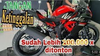 Ninja 250 cc Harga 30 jutaan ??? Nih detail Ninja 250 SL