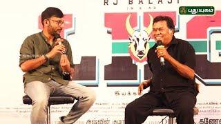 Actor Mayilsamy speech at LKG Movie Press Meet | RJ Balaji | Priya Anand
