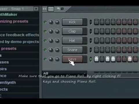 Hook up keyboard to fruity loops