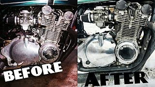 How To: Polish Your Dirty Old Motorcycle Engine