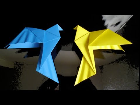 HD Origami Dove Tutorial Music Videos