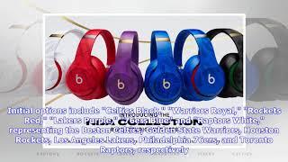 Apple's Beats releases 'NBA Collection' Studio3 Wireless headphones in six team colors