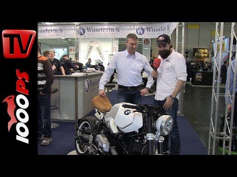 Wunderlich BMW R nineT Umbau   Motorräder Dortmund 2015