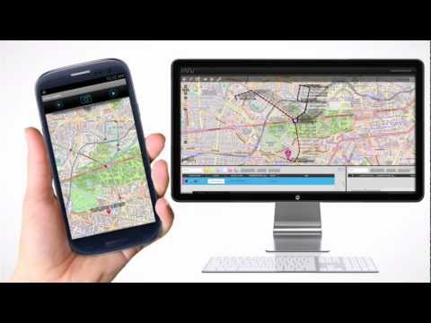 InViu Routes - GPS Tracking Android App