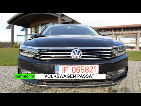 VW Passat 2015 Review (www.buhnici.ro)