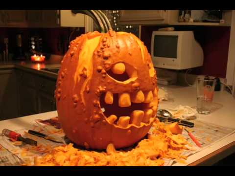 The Pumpkin Time Lapse Carving Youtube