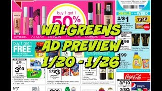 WALGREENS AD PREVIEW 1/20 - 1/26 | CHEAP LAUNDRY DETERGENT & BODY WASH!