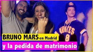 Download Lagu Le pide matrimonio en el concierto de Bruno Mars en Madrid Gratis STAFABAND